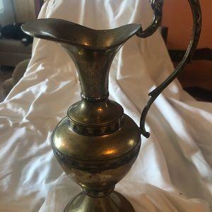 Brass Ewer or Vase